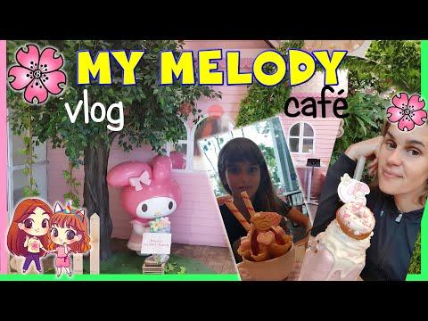 VLOG a SINGAPORE: MY MELODY CAFE', Cibo KAWAII! Barbara, Lara, Emi e Lele travel vlog