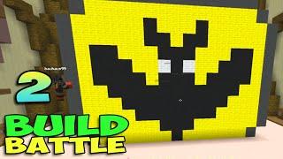 ч.02 Minecraft Build Battle - Будка для пса, Мороженное и Летучая мышь