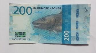 New 200 Norwegian Krone (NOK) Banknote 2017