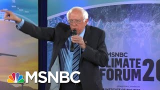 Bernie Sanders: I'd Look Into Criminal Charges Against Fossil Fuel Executives | MSNBC