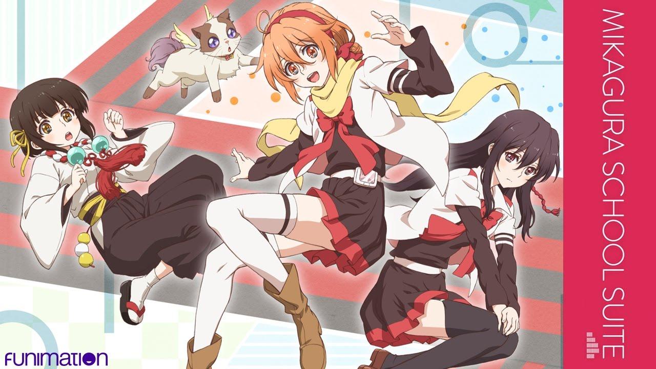 Mikagura School Suite Anime Completo Sub Español por Mega