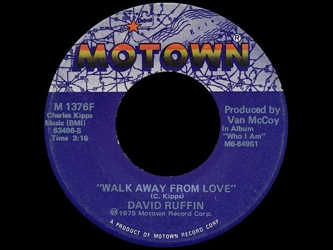 David Ruffin ~ Walk Away From Love 1975 Disco Purrfection Version