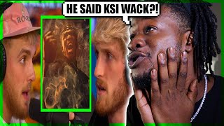 JAKE PAUL ON KSI: HIS MUSIC SUCKS (REACTION)