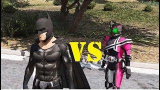 5 Anh em siêu nhân được Batman cứu khỏi Kamen rider (ý tưởng Fan) GHTG