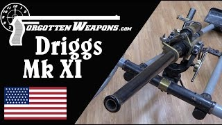 US Navy Driggs Mk IX 37mm Quickfire Cannon