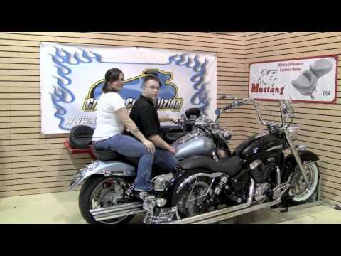 TOTW Motorcyle Seat Options Saddlemen Mustang
