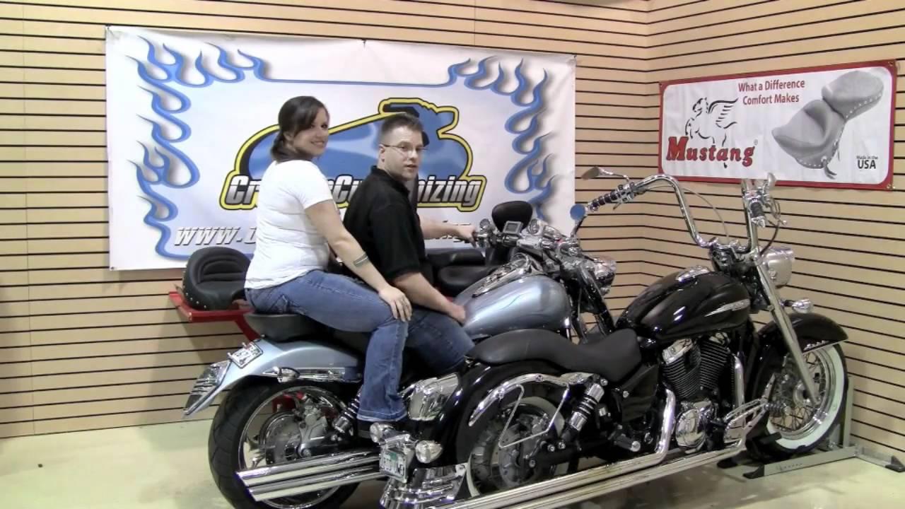 Totw Motorcyle Seat Options Saddlemen Mustang Youtube