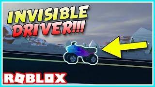 ROBLOX JAILBREAK INVISIBLE ATV DRIVER GLITCH! [NEW]