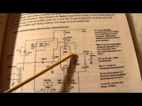 1 Tube Am Radio Circuit From The S