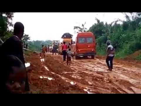 Current state of Twifo praso and Assin Fosu road