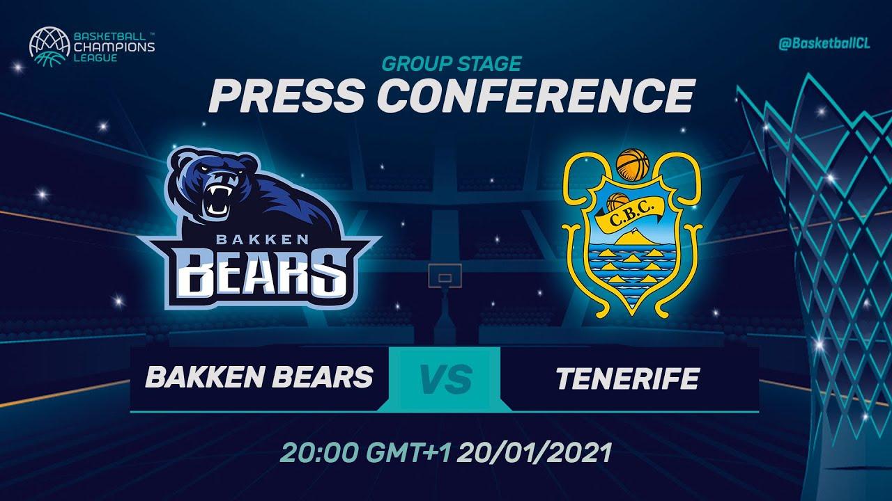 Bakken Bears v Iberostar Tenerife - Press Conference