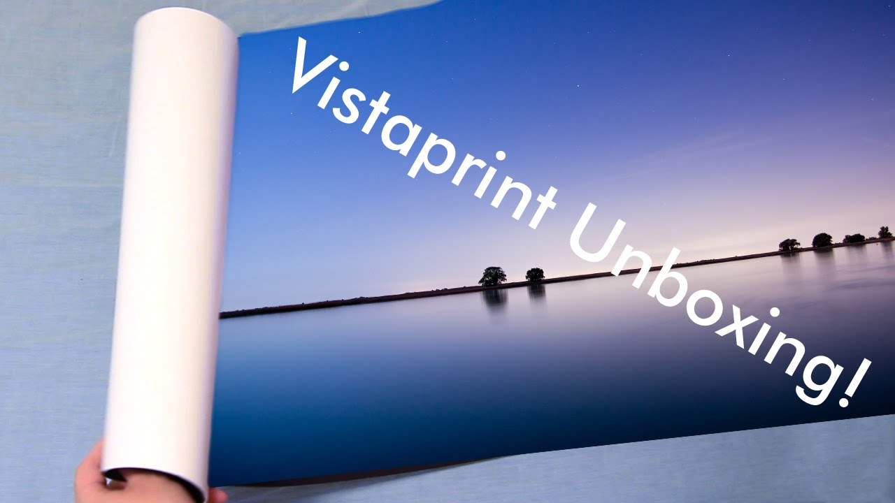 Vistaprint Poster Quality Overview And Unboxing