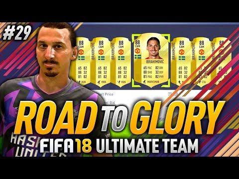 FIFA 18 ROAD TO GLORY #29 - ZLATAN TIME!! 🔥