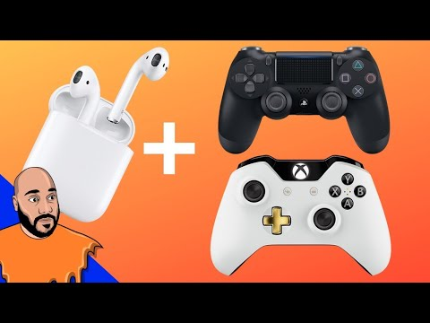 how-to-use-airpods-on-ps4-&-xbox-one!