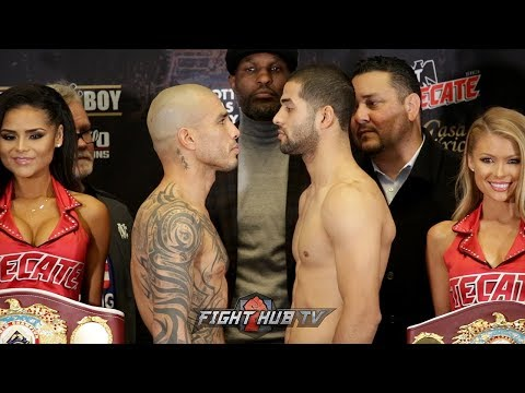ONE LAST TIME! MIGUEL COTTO VS SADAM ALI FULL WEIGH IN & FACE OFF VIDEO