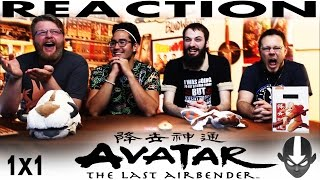 Avatar: The Last Airbender 1x1 REACTION!!