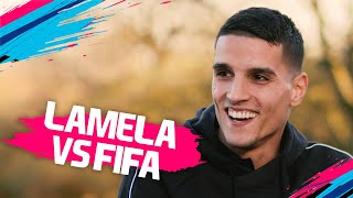Who is the better finisher, Aguero or Kane? | Erik Lamela vs FIFA 19 🔥