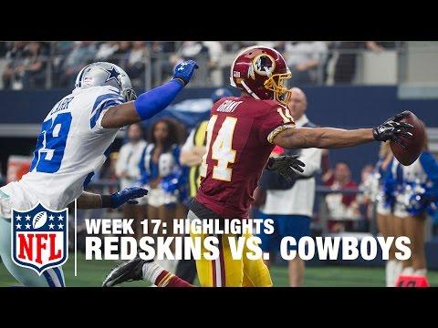 Redskins vs. Cowboys | Week 17 Highlights | NFL