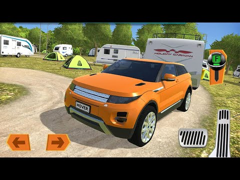 Camper Van Beach Resort #2 - Long Vehicles Driving Simulator Android iOS Gameplay |