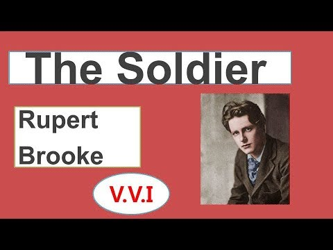 The Soldier by Rupert Brooke Explanation