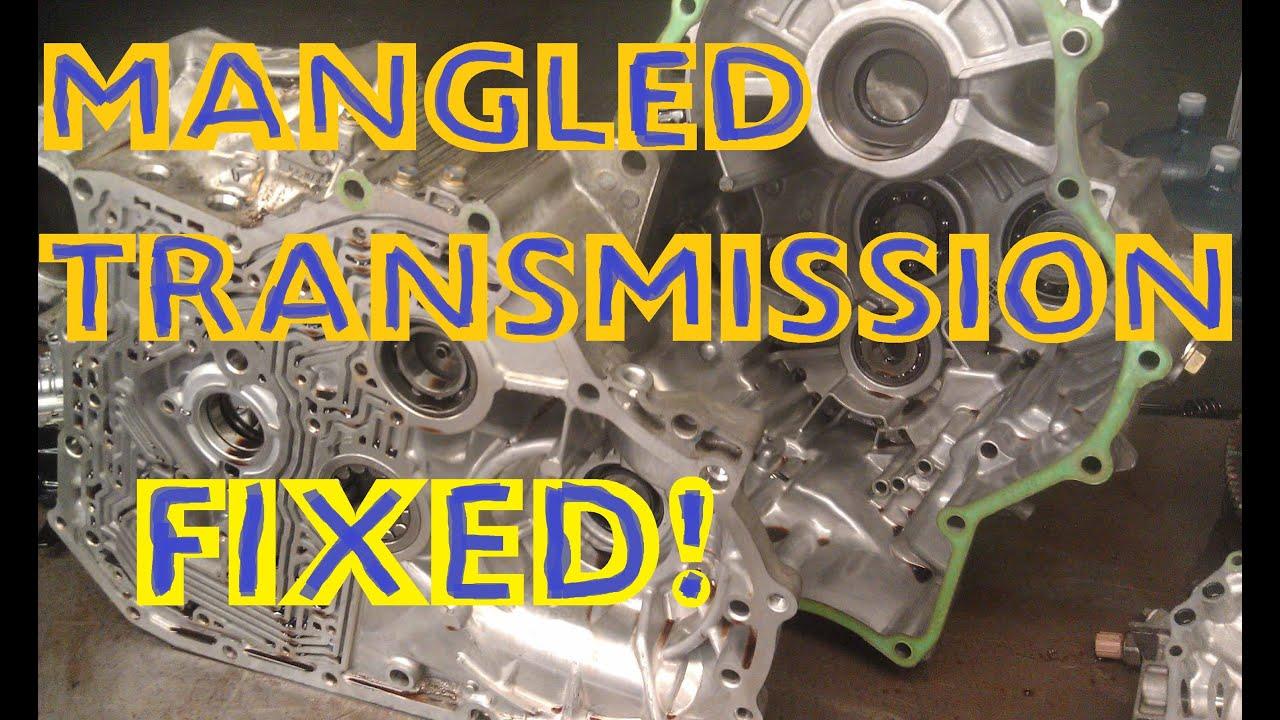 1999 Honda Accord Baxa Automatic Transmission Overhaul Part 2