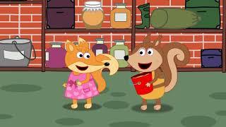 Fox Family Сartoon for kids #398