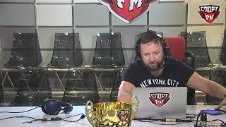 Резидент Comedy Club Демис Карибидис в гостях у 100% Утра. 18.09.2017
