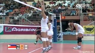 Philippines vs Indonesia - 2014 FIVB Women WCH Qualification