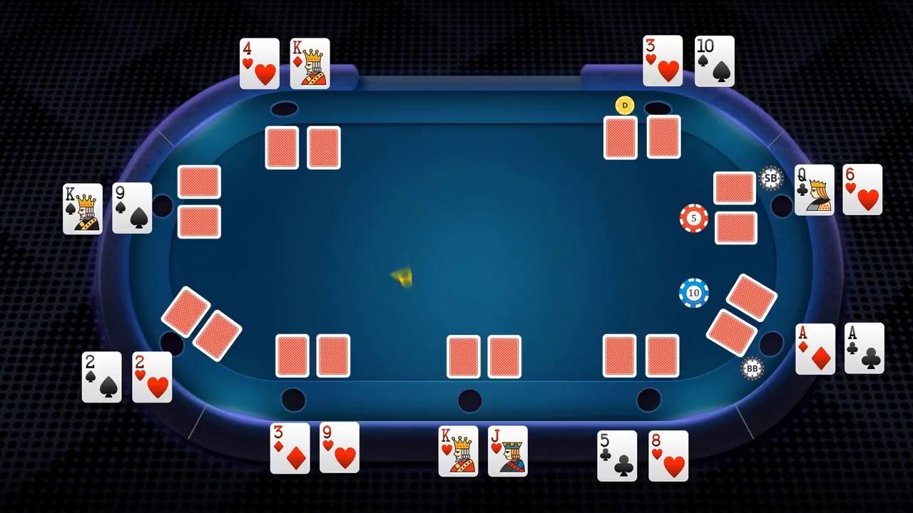 Cara Bermain Texas Holdem Poker Online Uang Asli Terpercaya Youtube