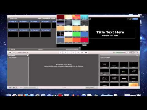 Video 101 - How to make basic karaoke videos with iMovie