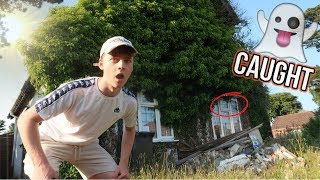 EXPLORING AN ABANDON HAUNTED HOUSE!! **PROOF**