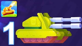 Tank Stars - Gameplay Walkthrough Part 1 - Tutorial (iOS, Android)