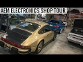 AEM Electronics Shop Tour - A Company Built By Real Enthusiasts