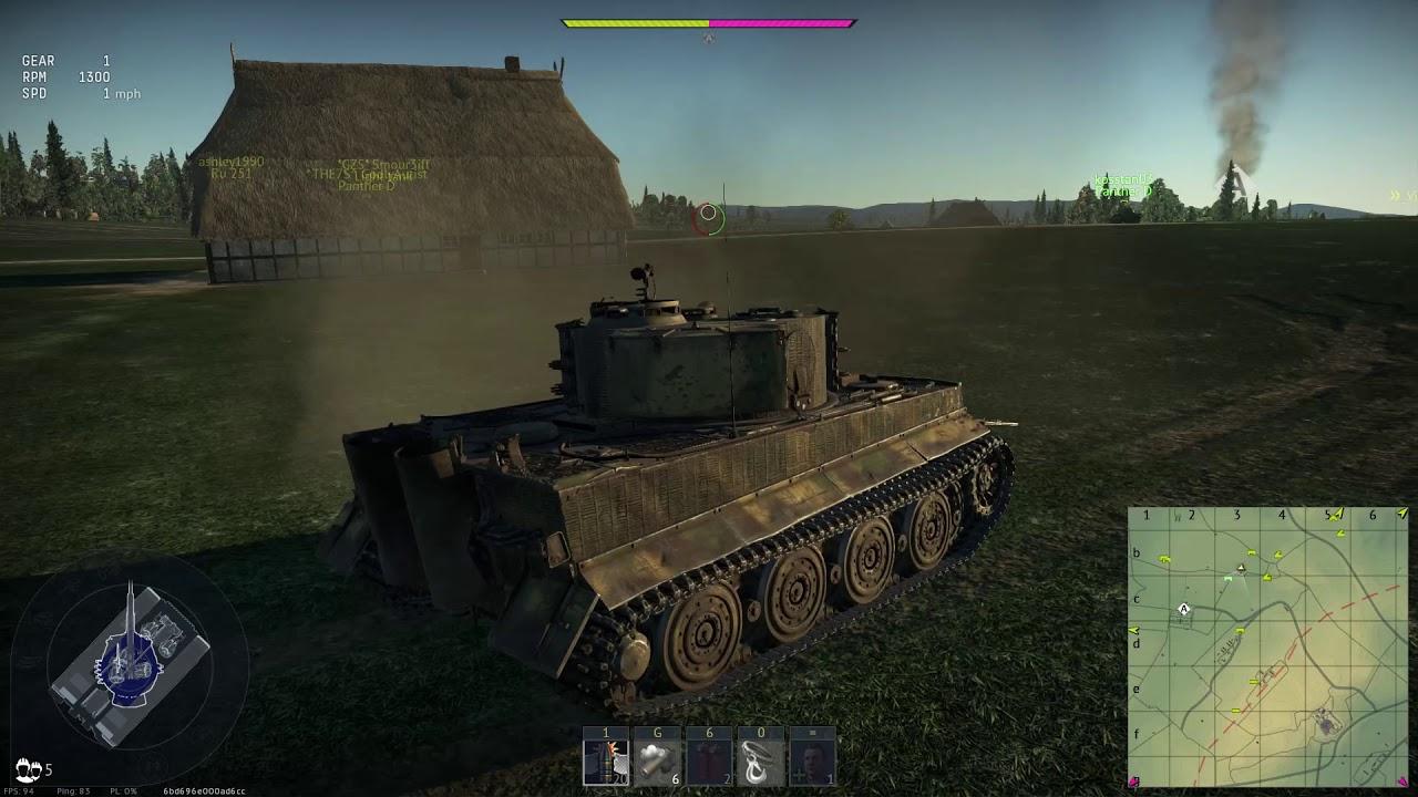 War Thunder RB Gameplay 6.7 British - YouTube