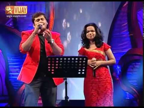 Super Singer Junior   Pookkale Satru  Aravind Srinivas and Parvathy