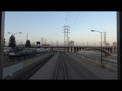 Amtrak Southwest Chief Los Angeles Union Station to Fullerton
