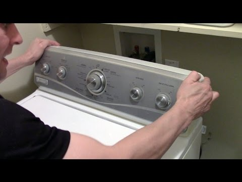 He maytag centennial washer fix doovi for Kenmore washer motor reset