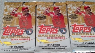 BASEBALL CARDS 2013 TOPPS PACK OPENING AND FREE SET GIVEAWAY
