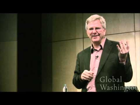 Rick Steves,  Travel as a Political Act, Global Washington 2011 Travel Video