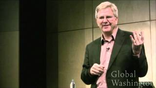 Rick Steves,  Travel as a Political Act, Global Washington 2011 TRAVEL_VIDEO
