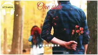 One side love/Love status/whatsapp status/tamil