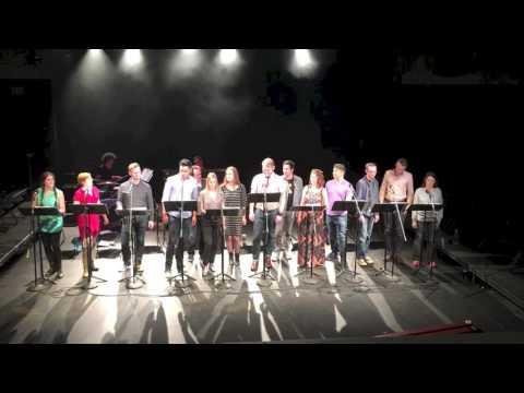 SDSU MFA Musical Theatre & Creators of ON THE EVE sing