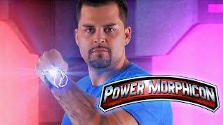 Blue Turbo Ranger Blake Foster at Power Morphicon 4!