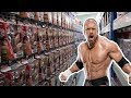 Playing A Game In A WWE Action Figure Warehouse!!! - Wrestling Shop