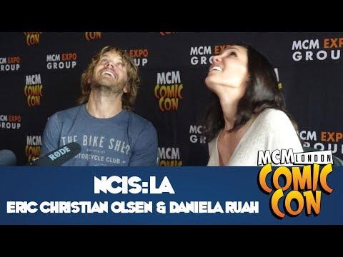 NCIS:LA Press Interview - Eric Christian Olsen & Daniela Ruah at MCM Comic Con London - May 2017