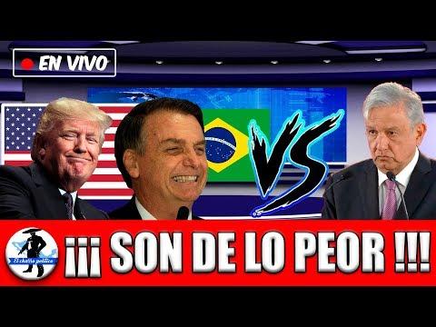 Brasil Le Quire Quitar Lugar A Mexico Y USA Quiere Lucrar Con Pensiones De Mexicanos;Amlo Se Niega