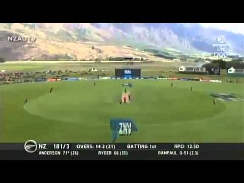 Corey Anderson 100 from 36 balls Fastest Hundred in Cricket