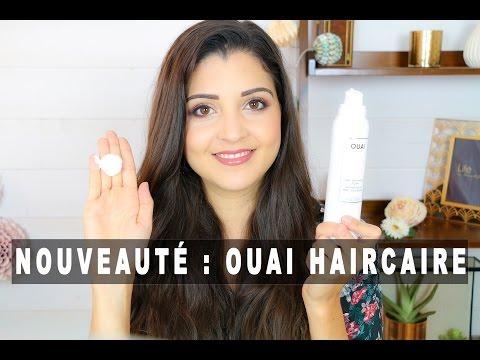 Nouveauté !! TEST Shampoing sec moussant OUAI Haircare