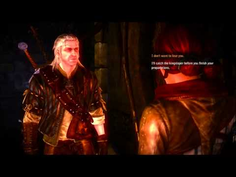 The Witcher Continue Romance With Triss Merigold