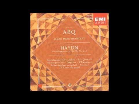 Haydn string quartet op.76 no 2